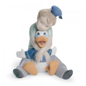 Daydreaming with Donald - Nao Figurine