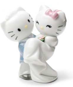 Hello Kitty Gets Married - Nao Figurine