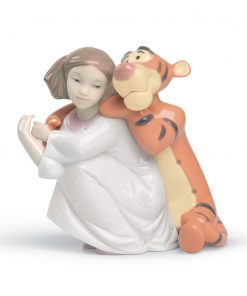 Hugs with Tigger - Nao Figurine