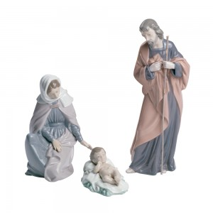 3 pc. Nativity Set 02007026 - Nao Figurine
