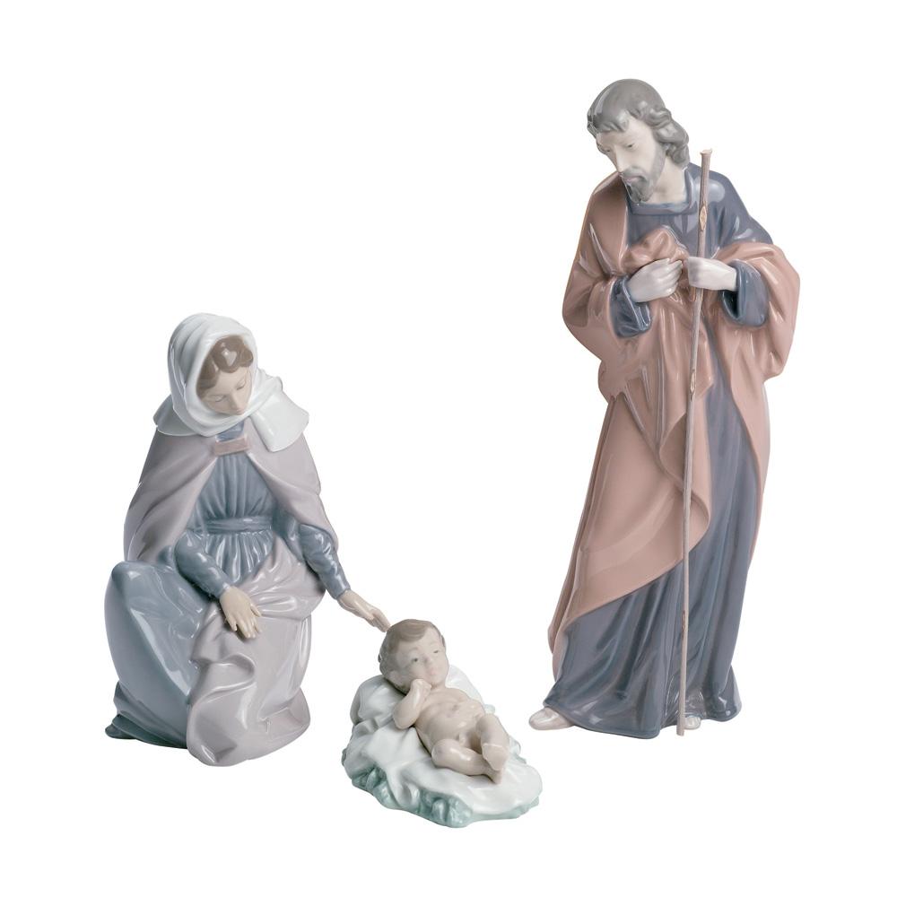 3 pc. Nativity Set 02007026 - Nao Figurine