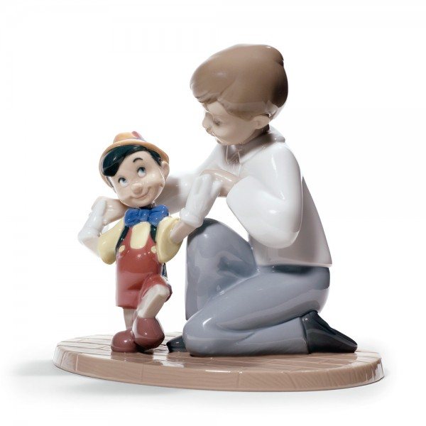 Pinocchio's First Steps - Nao Figurine