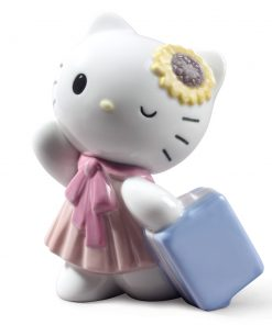 Travelling with Hello Kitty - Nao Figurine