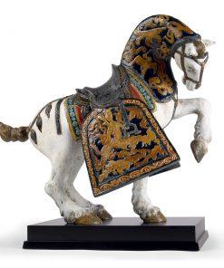 Oriental Horse (Matte) 01001944 - Lladro Figurine