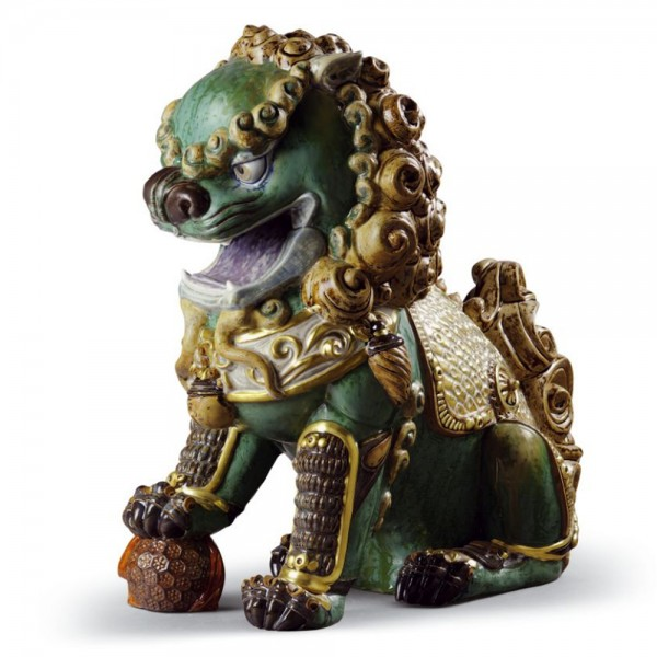 Oriental Lion (Green) 1001987 - Lladro