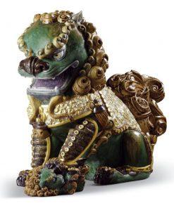 Oriental Lioness (Green) 1001986 - Lladro