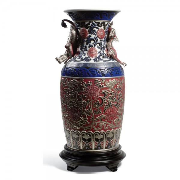 Oriental Vase (Red)1001954; Ltd. 250 -  Lladro
