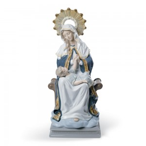 Our Lady Of Divine Providence 01008479 - Lladro Figurine