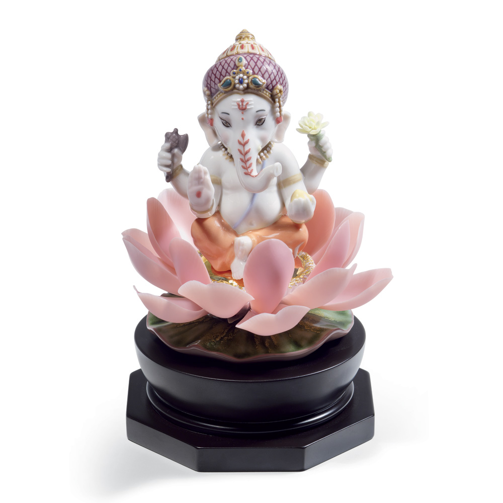 Padmasana Ganesha 01008635 - Lladro Figurine