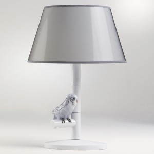 Parrot Night (Left) 01007865 - Lladro Lamp