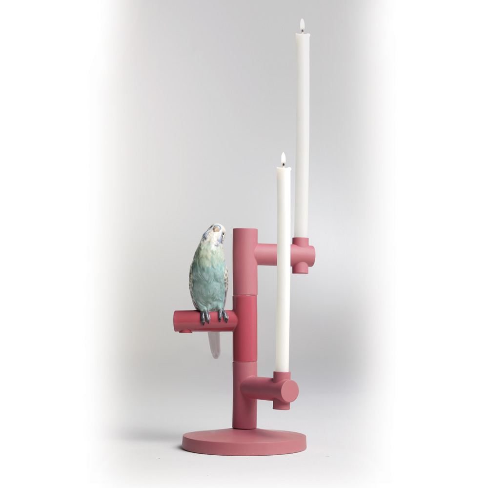 Parrot Star 01007858 - Lladro Candle Holder