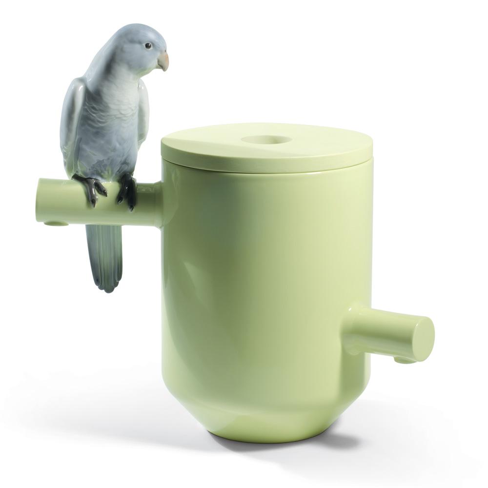 Parrot Treasure 01007847 - Lladro Vase