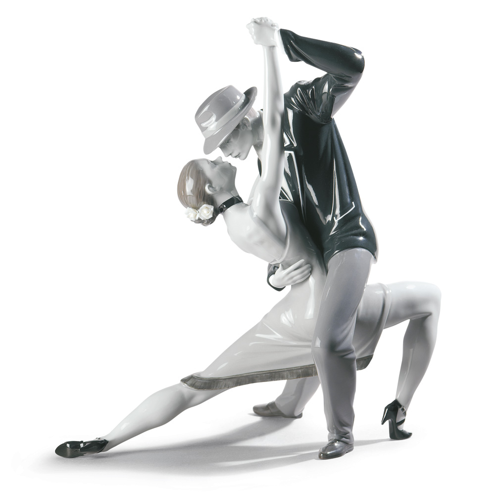 Passionate Tango Noir - Lladro Figurine