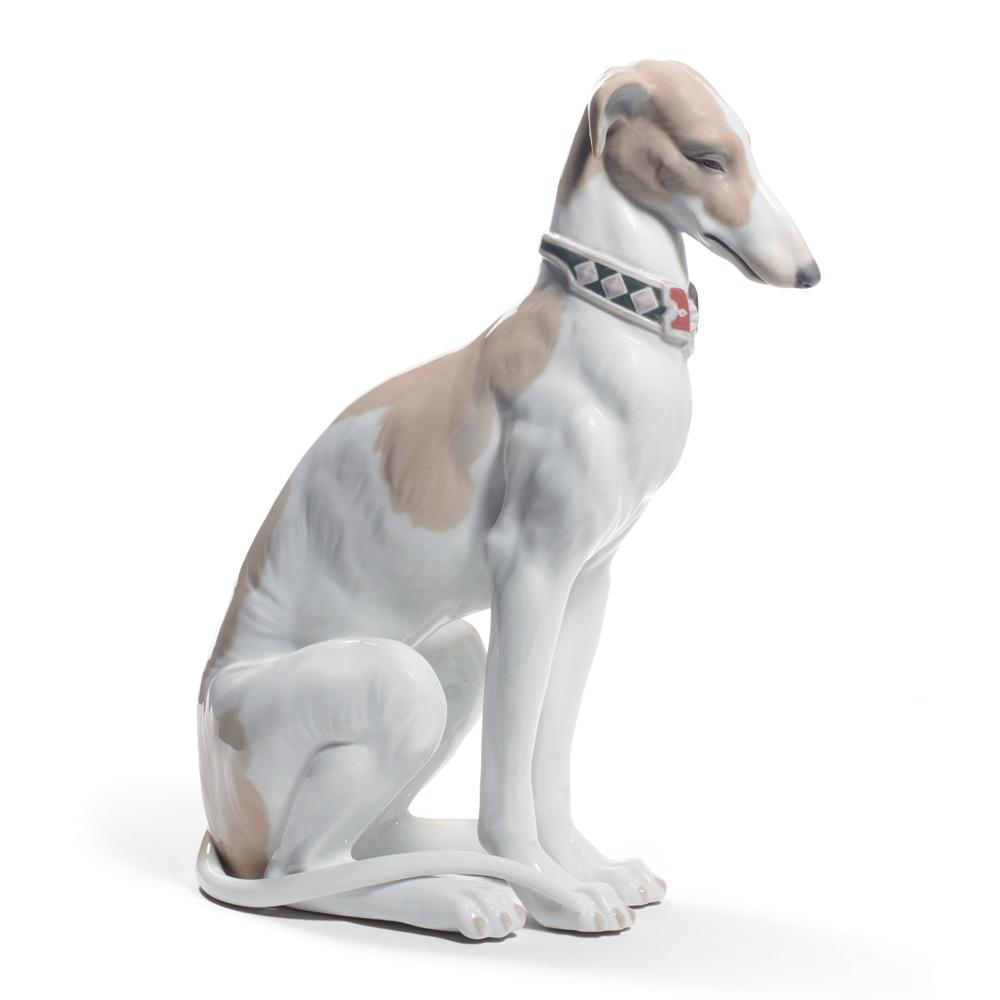 Pensive Greyhound 01008608 - Lladro Figurine