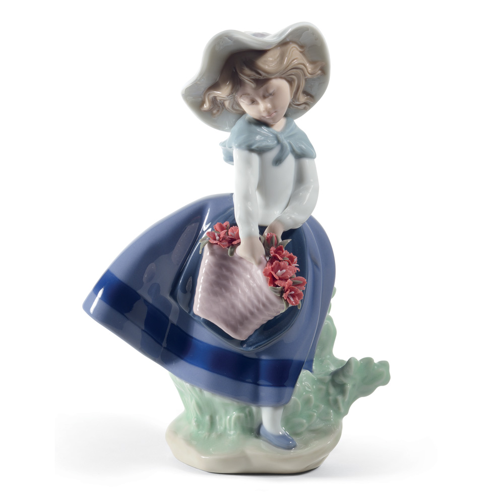 Pretty Pickings Carnations 01008705 - Lladro Figurine