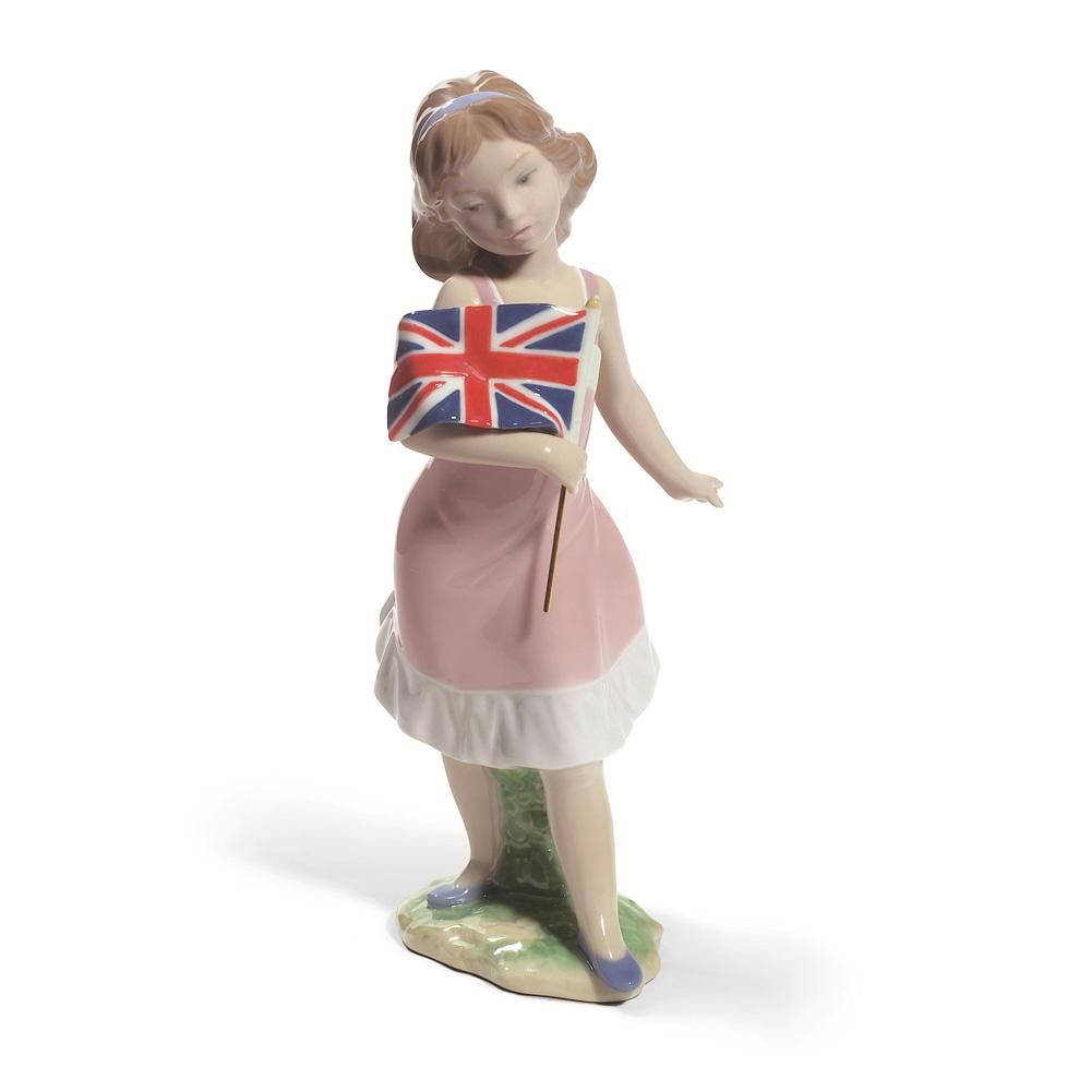 Pride in Your Kingdom (Girl) 01008604 - Lladro Figurine
