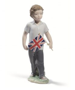 Proud of Your Kingdom (Boy) 01008603 - Lladro Figurine