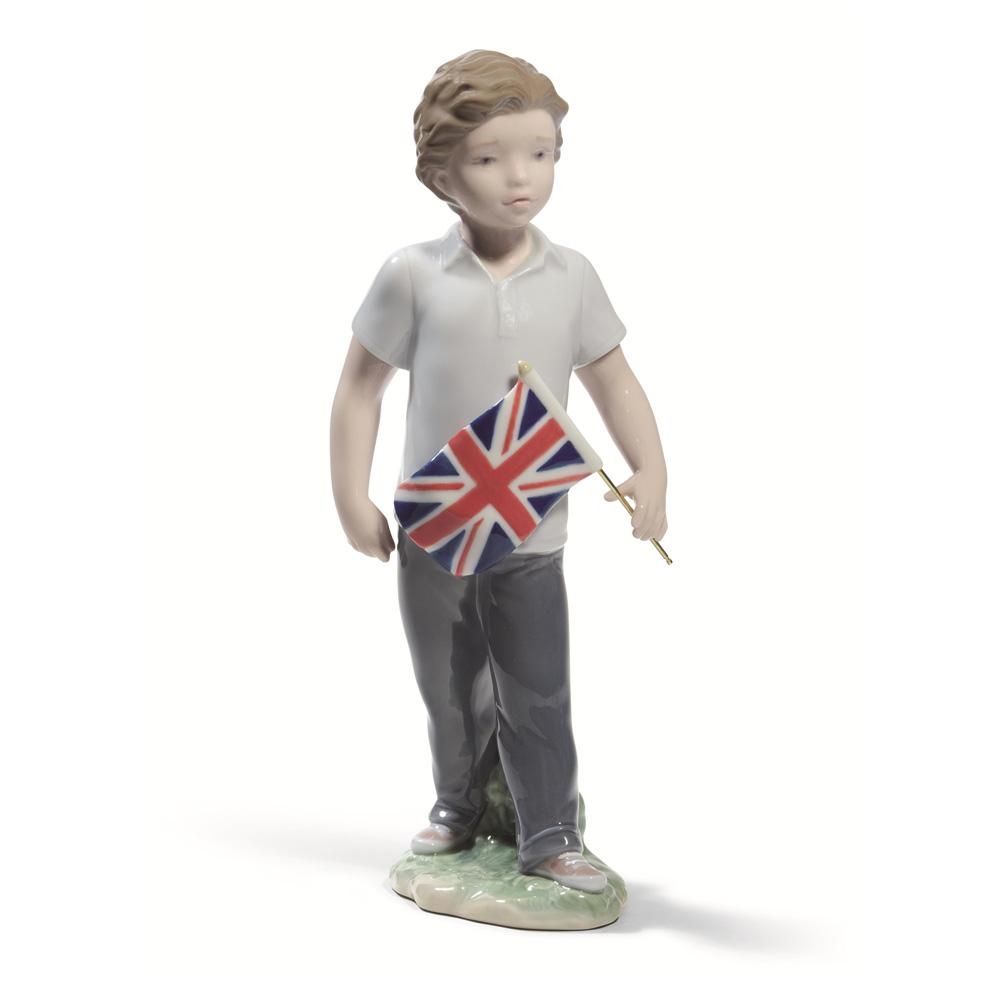 Proud of Your Kingdom (Boy) 01008603 - Lladro Figurine