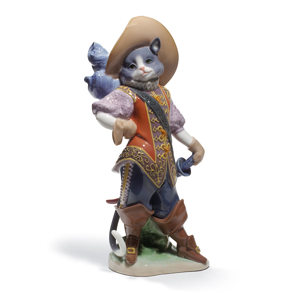 Puss In Boots 01008599 - Lladro Figurine