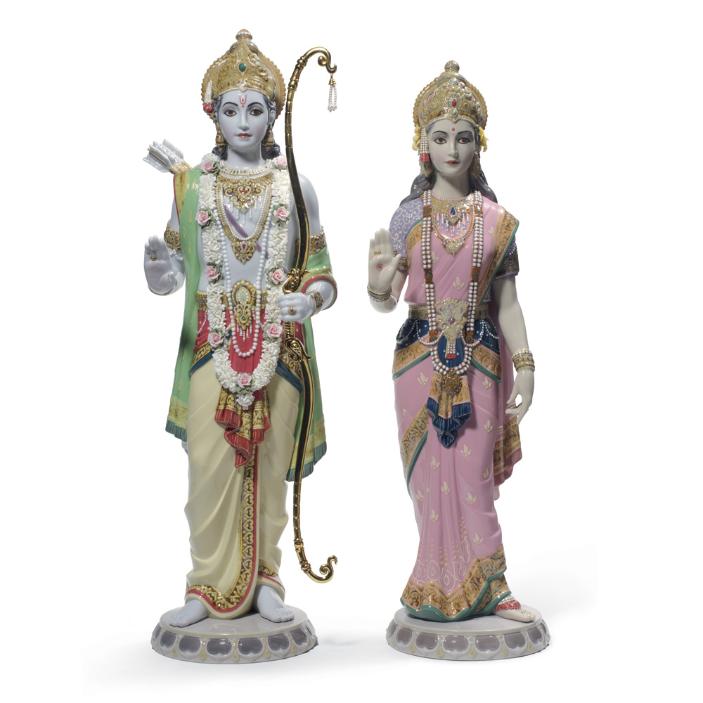Rama and Sita 01001963 - Lladro Figurine