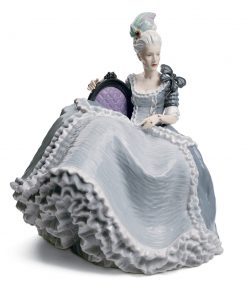 Rococo Lady At The Ball 01008423 - Lladro Figurine