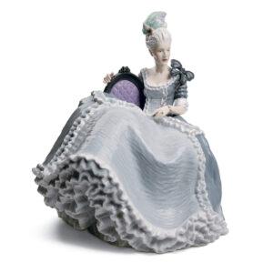 Rococo Lady At The Ball 01008423 - Lladro Figurine