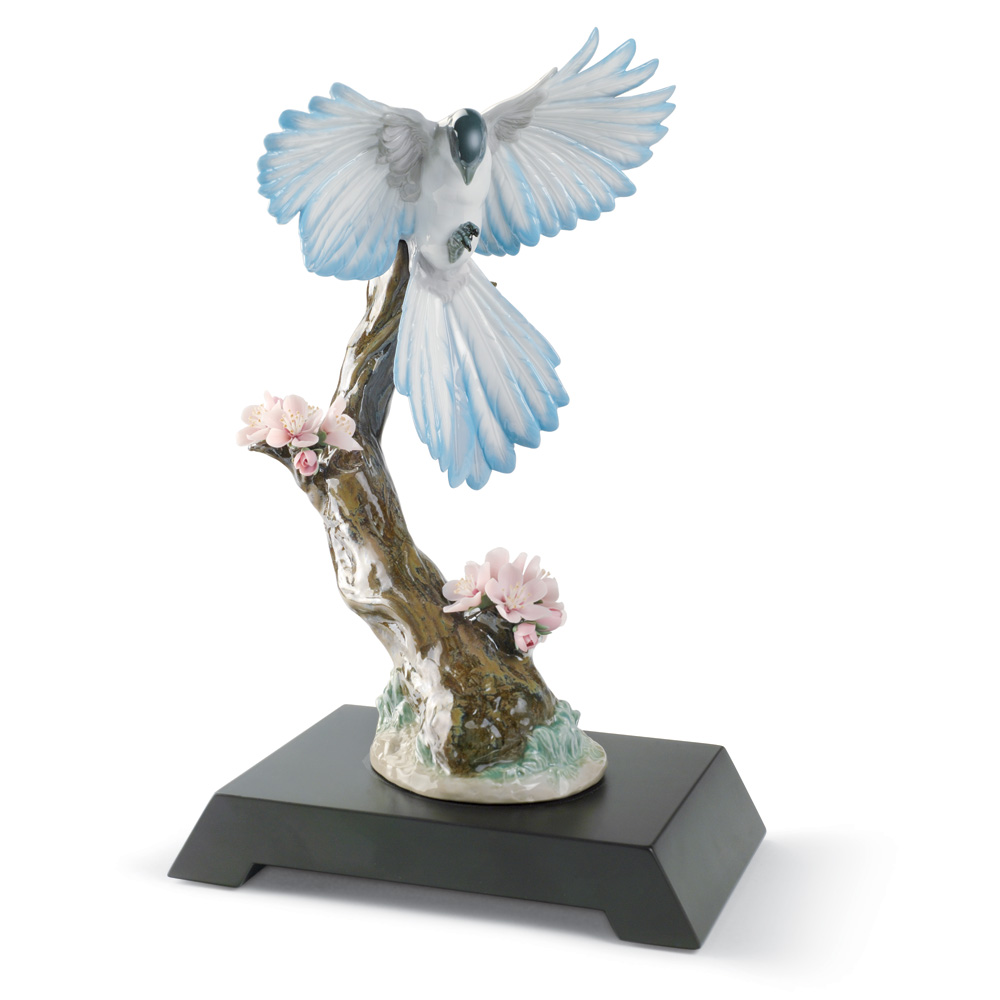 Season In Bloom - Bird 01008461 - Lladro Figurine