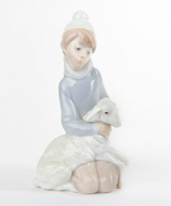 Shepherd with Lamb 1014676 - Lladro Figurine