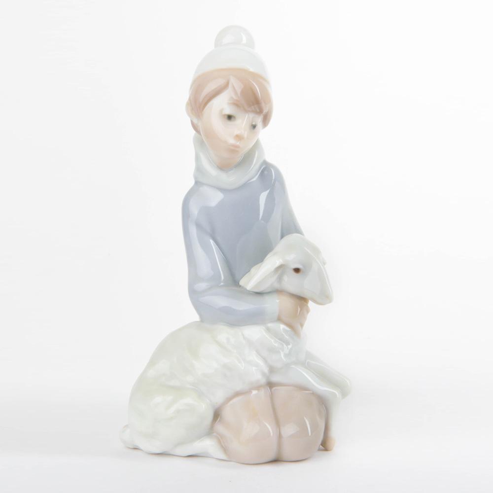 Shepherd with Lamb 1014676 - Lladro Figurine