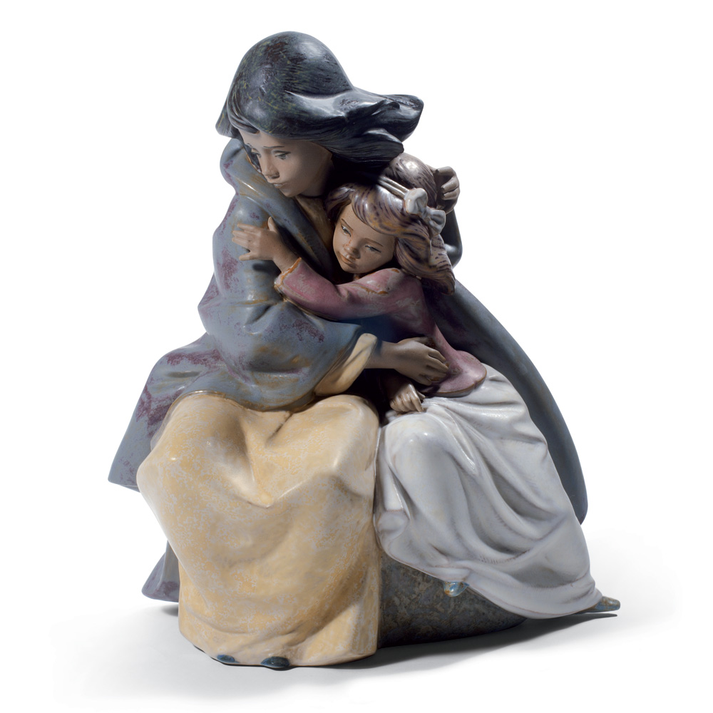 Sisterly Love 01012539- Lladro Figurine