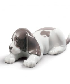 Sleepy Puppy - Lladro Figurine