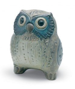 Small Owl (Grey) 01012534 - Lladro Figurine