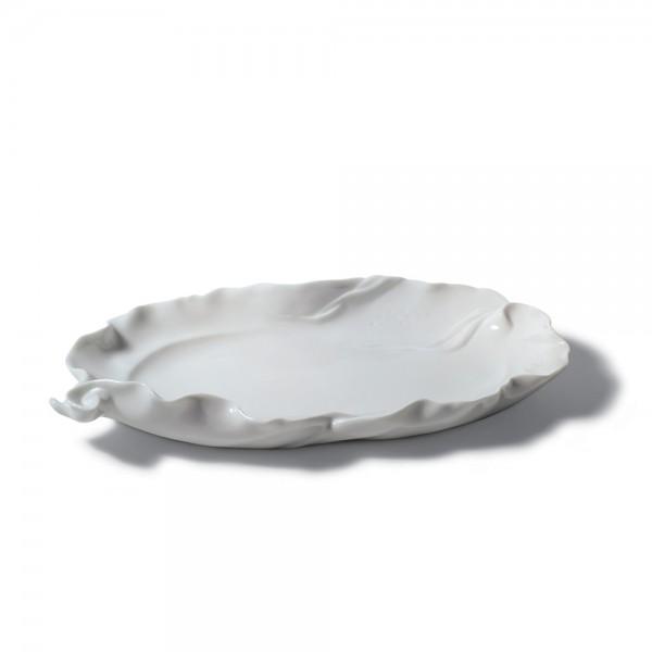 Snack Tray (White) 01007981 - Lladro Tray