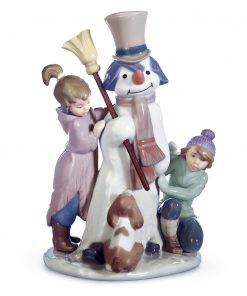 The Snowman 1005713 - Lladro Figurine