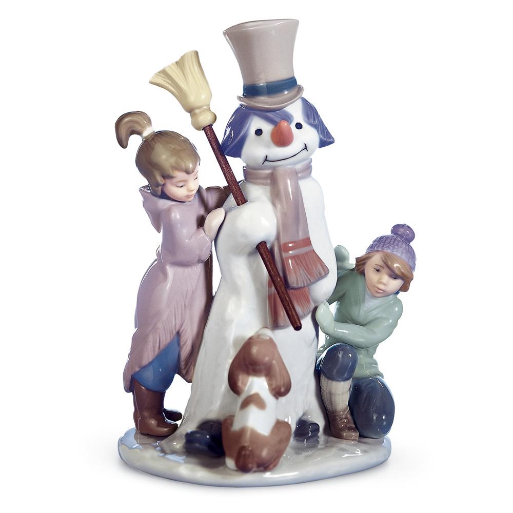 The Snowman 1005713 - Lladro Figurine