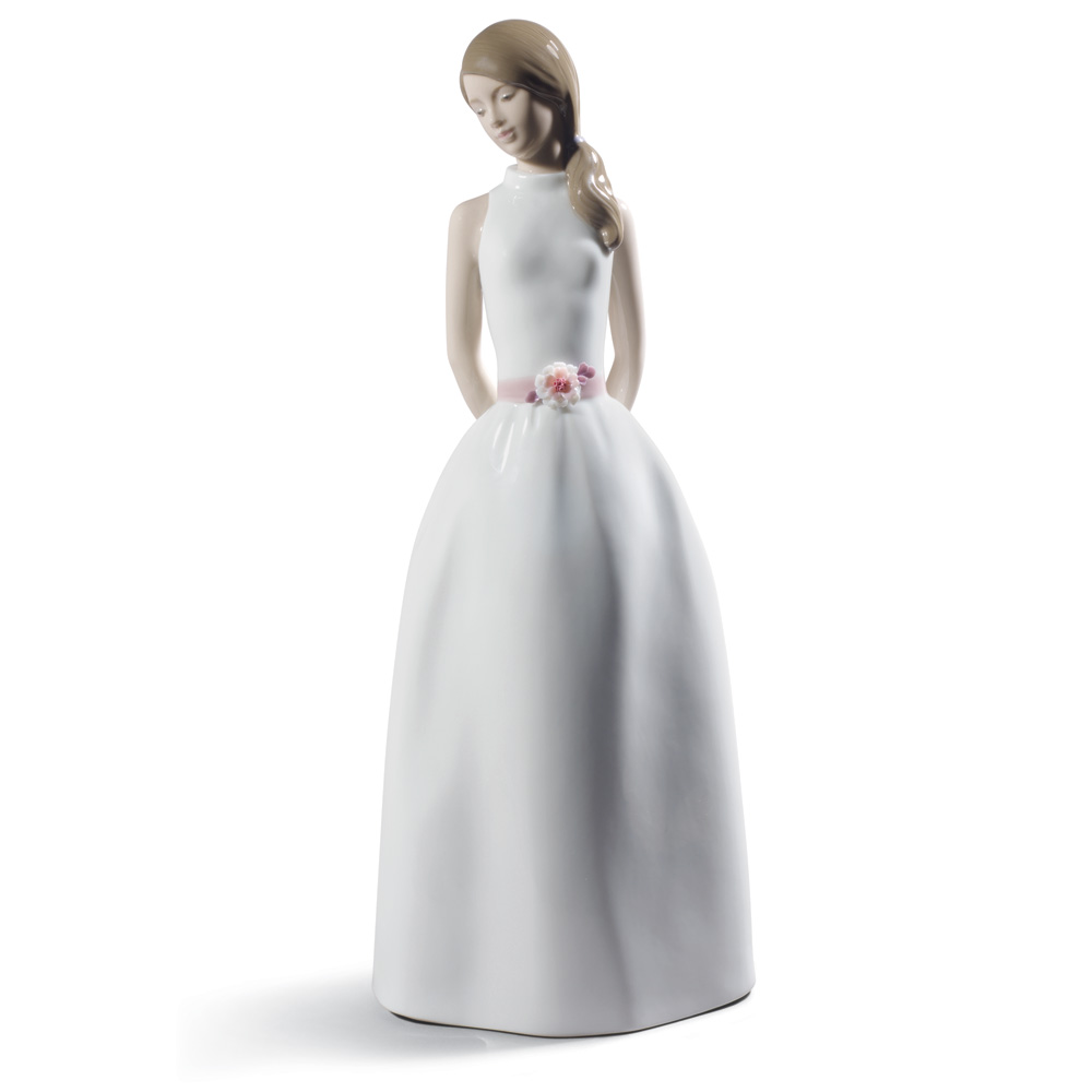 Sweet Adolescence 1008785 - 2014 Lladro Annual Figurine