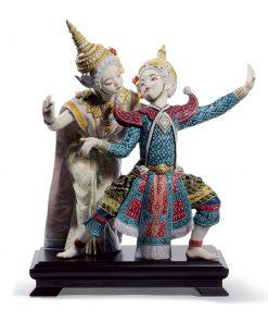 Thai Dancers 01008647 - Lladro Figurine