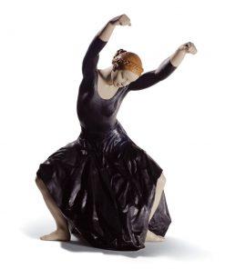 The Spirit Of Dance (Black) 01008609 - Lladro Figurine