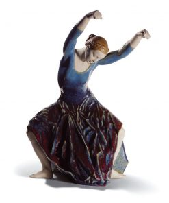 The Spirit Of Dance (Blue) 01008610 - Lladro Figurine