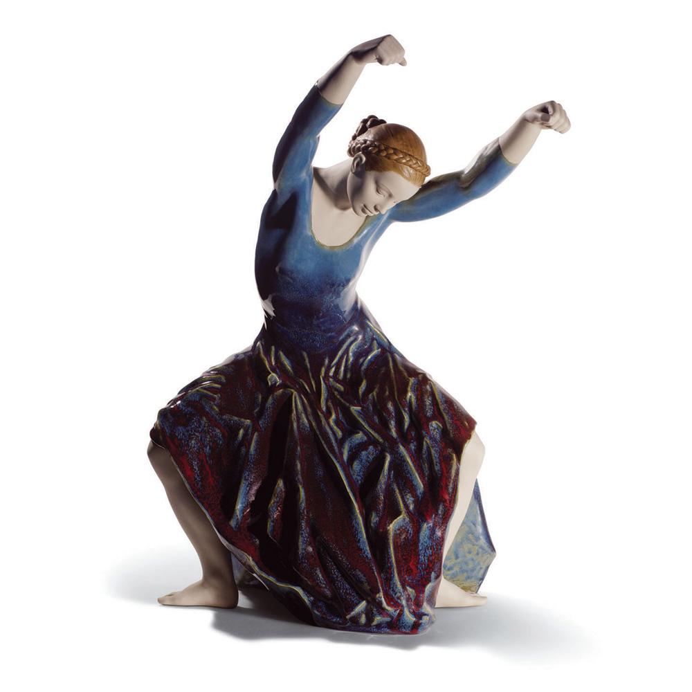 The Spirit Of Dance (Blue) 01008610 - Lladro Figurine