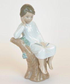 Thinker Little Boy 1004876 - Lladro Figurine