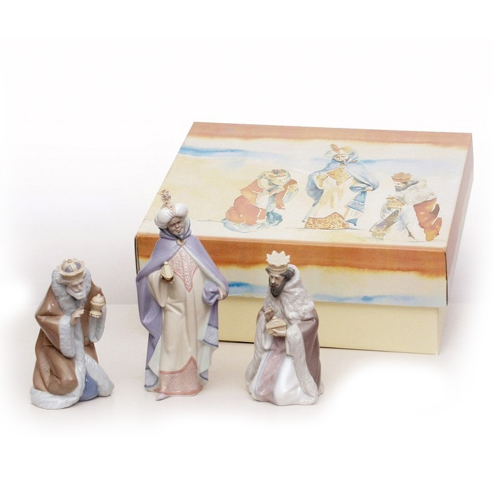 Three Wise Men 3pc Set 01007812 - Lladro Figurines