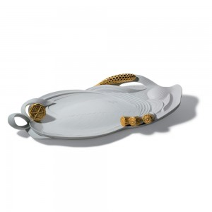 Tray (Golden) 01007980 - Lladro Tray