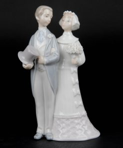 Wedding Couple 4808G - Lladro Figurine