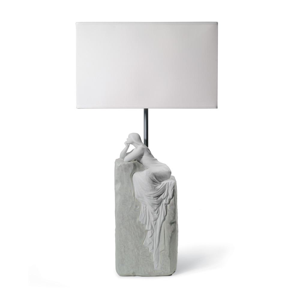 Meditating Woman Lamp II - USA 01008554 - Lladro Lamp