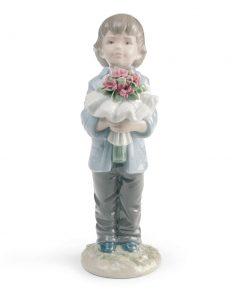 You Deserve The Best (Boy) 01008504 - Lladro Figurine