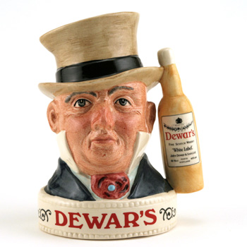 Mr. Micawber Jug Var. 1 - Royal Doulton Liquor Container