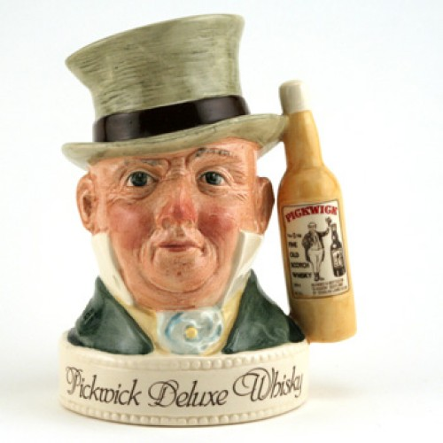 Mr. Micawber Jug Var. 3 - Royal Doulton Liquor Container