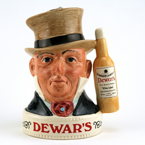 Mr. Micawber Var. 1 - Royal Doulton Liquor Container