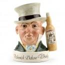 Mr. Micawber Var. 2 - Royal Doulton Liquor Container